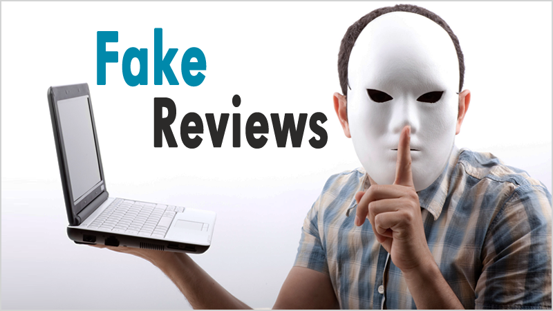 How to differentiate betwen fake and real reviews